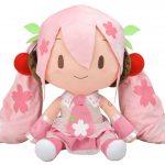 「桜ミク どでかジャンボふわふわぬいぐるみ」再販決定!