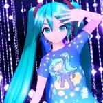 『初音ミク Project DIVA MEGA39's』、無料の「Tシャツデザインパック 1st / 2nd」配信開始!